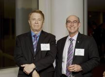 Gary Mather, PhD and James Ecklund, MD.