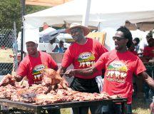Photograph of Grace Jamaican Jerk Festival by Ajamu.