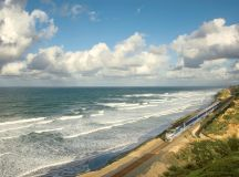 The Pacific Surfliner is just one of Amtrak's many scenic routes. Photograph by Yury Miller/Alamy.