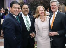Mexican Ambassador Gerónimo Gutiérrez, Illinois Congressman Raja Krishnamoorthi, Nancy Northup (President of the Center for Reproductive Rights), and McLarty President Nelson W. Cunningham.