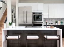 Metzler and her husband designed and built their kitchen using Ikea cabinetry