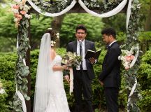 Thievery Corporation's Rob Garza Officiated a Rock Star-Style Wedding in Chevy Chase images 13