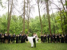 Thievery Corporation's Rob Garza Officiated a Rock Star-Style Wedding in Chevy Chase images 19