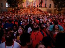 PHOTOS: The Crazy Crowds in DC After the Caps Won