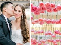 A Rose Gold Wedding That Will Make You Believe in ...