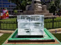 Europeans Have Brought Thousands of Pounds of Ice to a DC Park to Make Americans Feel Bad images 0