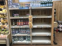Look at the Empty Bottled-Water Shelves at DC Grocery Stores images 2
