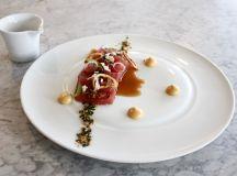 Gravitas, Ivy City, yellowfin tuna tartar