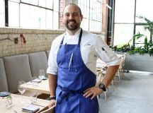 Gravitas chef Matt Baker