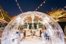 Dc' Outdoor Winter Bars With Fire Pits And Hot Cocktails