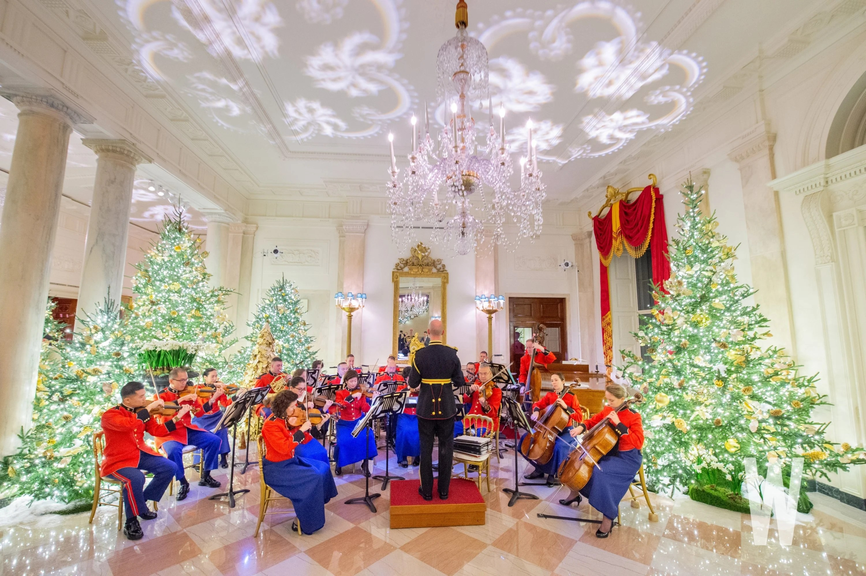 Photos The 2019 White House Christmas Decorations Washingtonian Dc