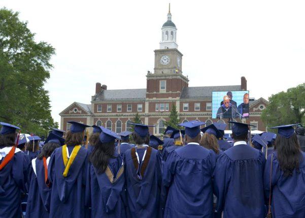 Howard University commencement 2014. (Freddie Allen/NNPA Photo)