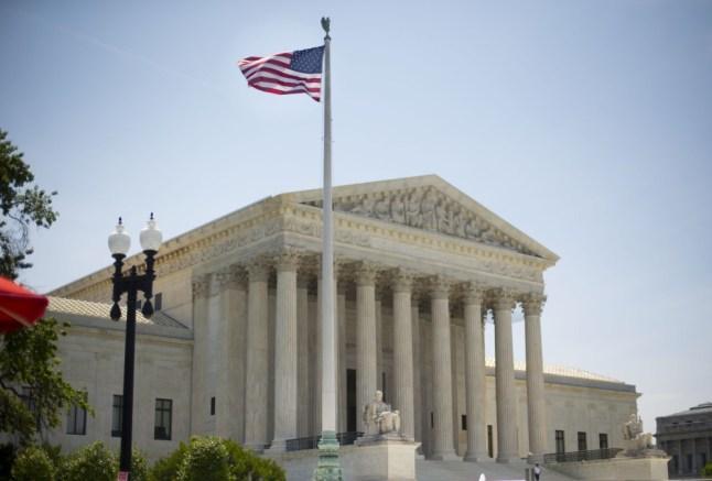 The Supreme Court building in Washington, Monday, June 30, 2014, following various court decisions. (AP Photo/Pablo Martinez Monsivais)