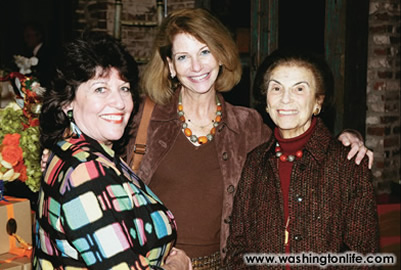 Carol Schwartz, Judy Bachrach and Ruth Bachrach