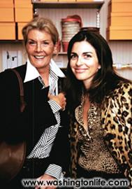 Monika von Eichel and Pamela Aparicio