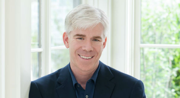 David Gregory at his home in Washington, D.C. (Photo by Marissa Rauch, courtesy Wikimedia Commons, photo has been cropped)