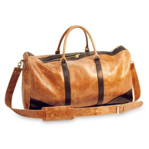 Sseko duffle bag in caramel (Photo courtesy of Sseko Designs)