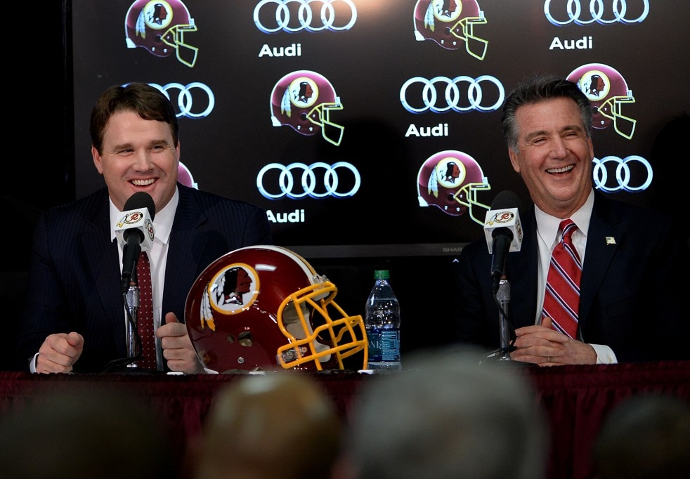 Jay Gruden and Bruce Allen