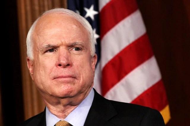 Sen. John McCain (R-Ariz.). (Jacquelyn Martin/AP)