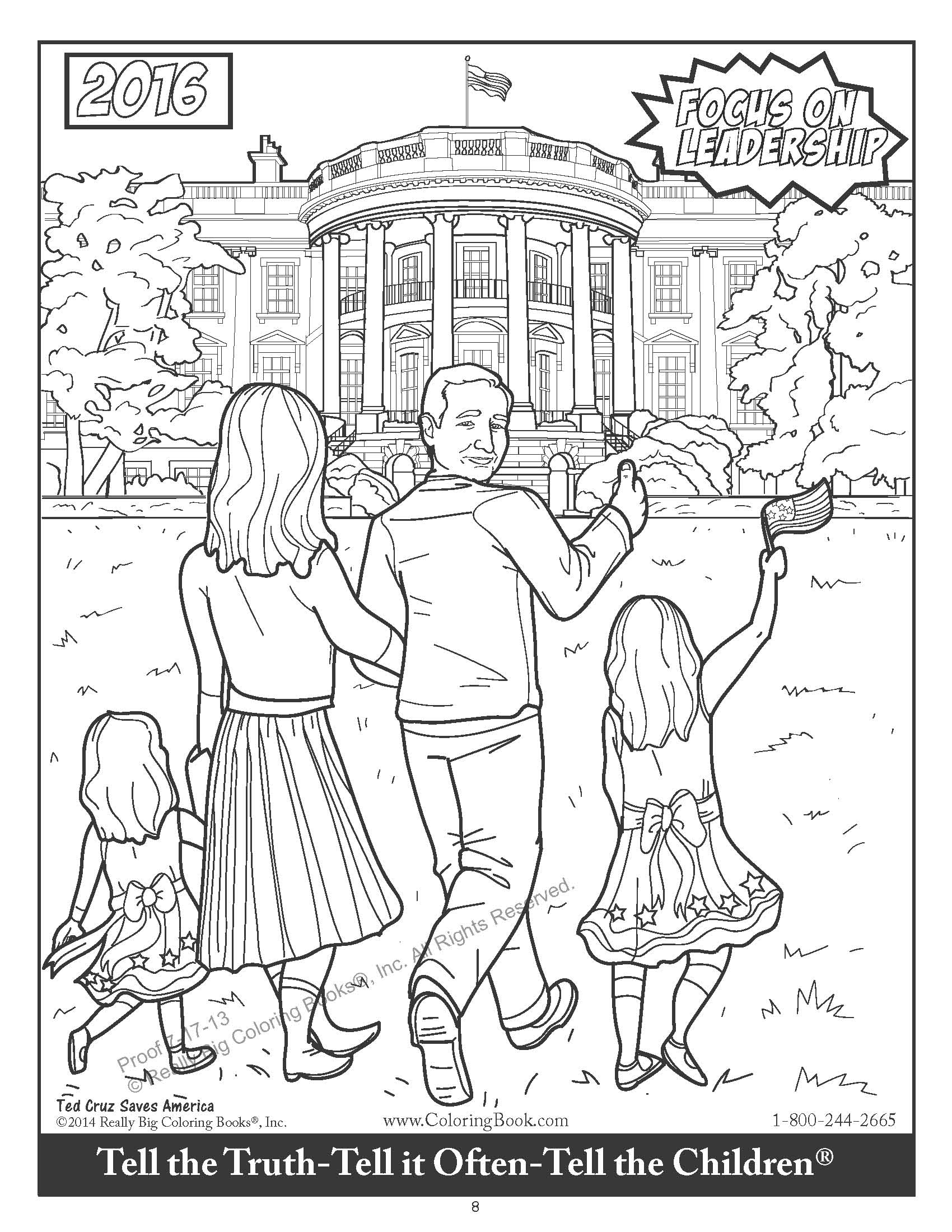 I colored the new Ted Cruz coloring book so you don't have