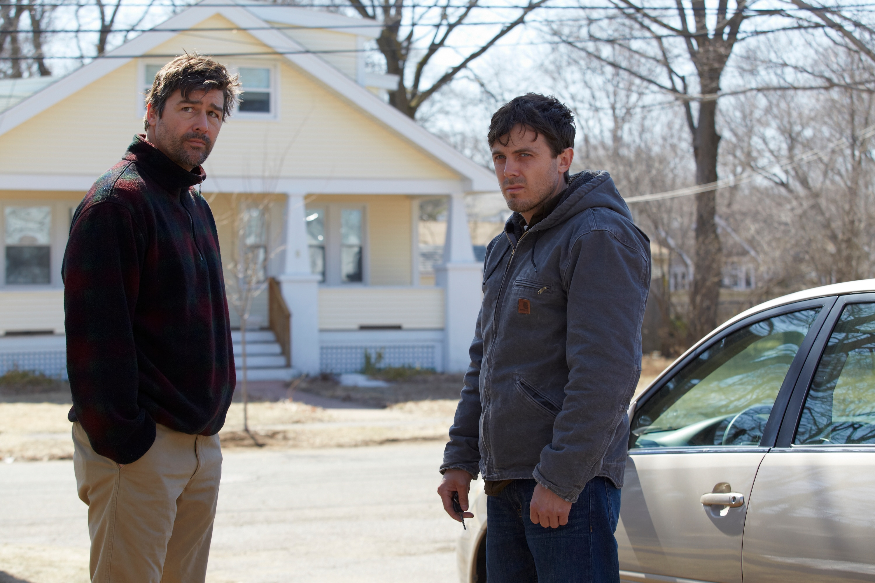 Kyle Chandler (left) and Casey Affleck star in