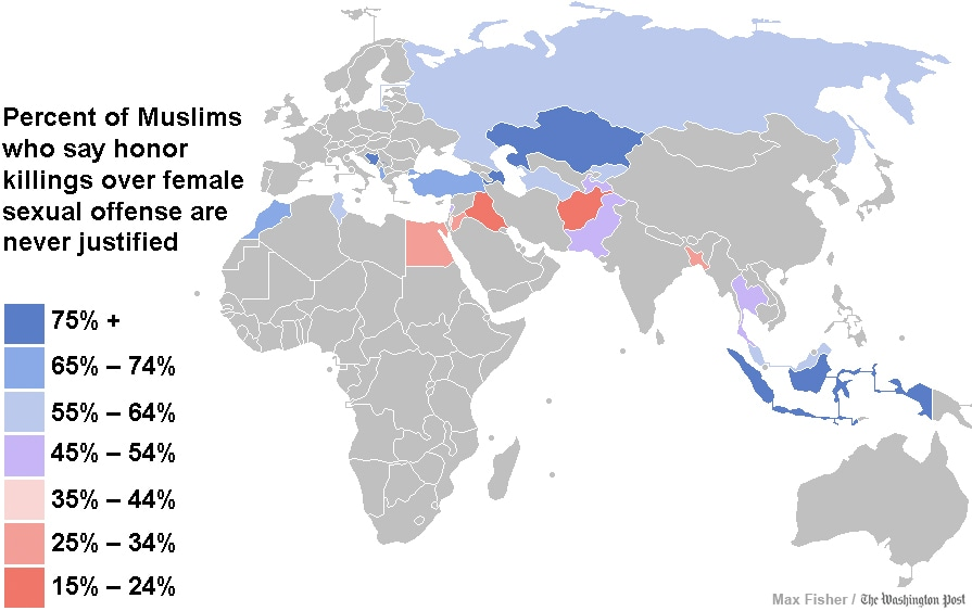 Click to enlarge. Data source: Pew. (Max Fisher/Washington Post)