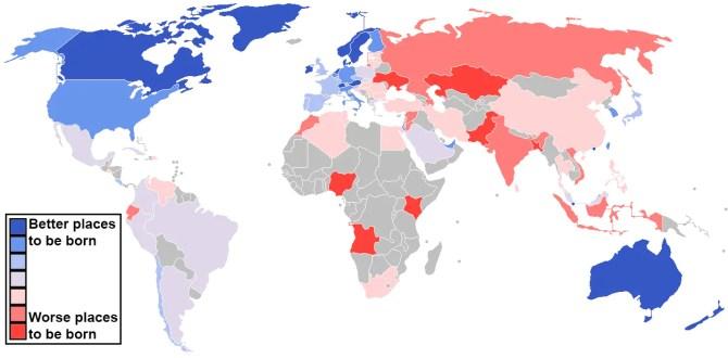 Click to enlarge. Data source: Economist intelligence unit. (Max Fisher/Washington Post)
