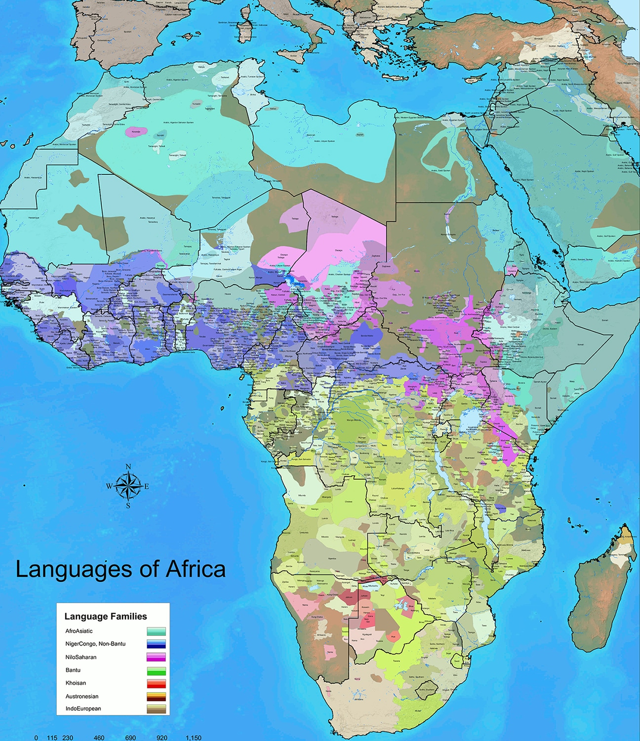 Data source: World Language Mapping System/Ethnologue. (Steve Huffman/WorldGeoDatasets)