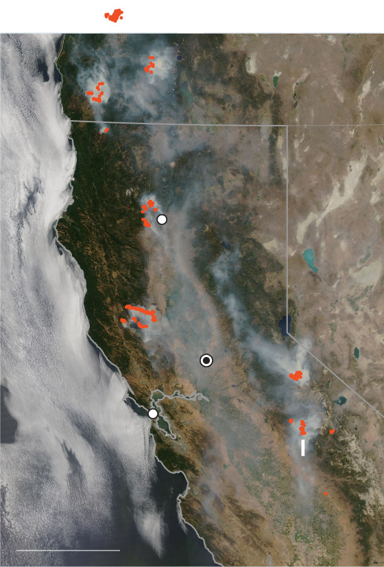 Ucanr is sharing this map solely as a reference, and is not responsible for the content or interpretation of the map. Maps Of The Mendocino Complex Fire In California Washington Post