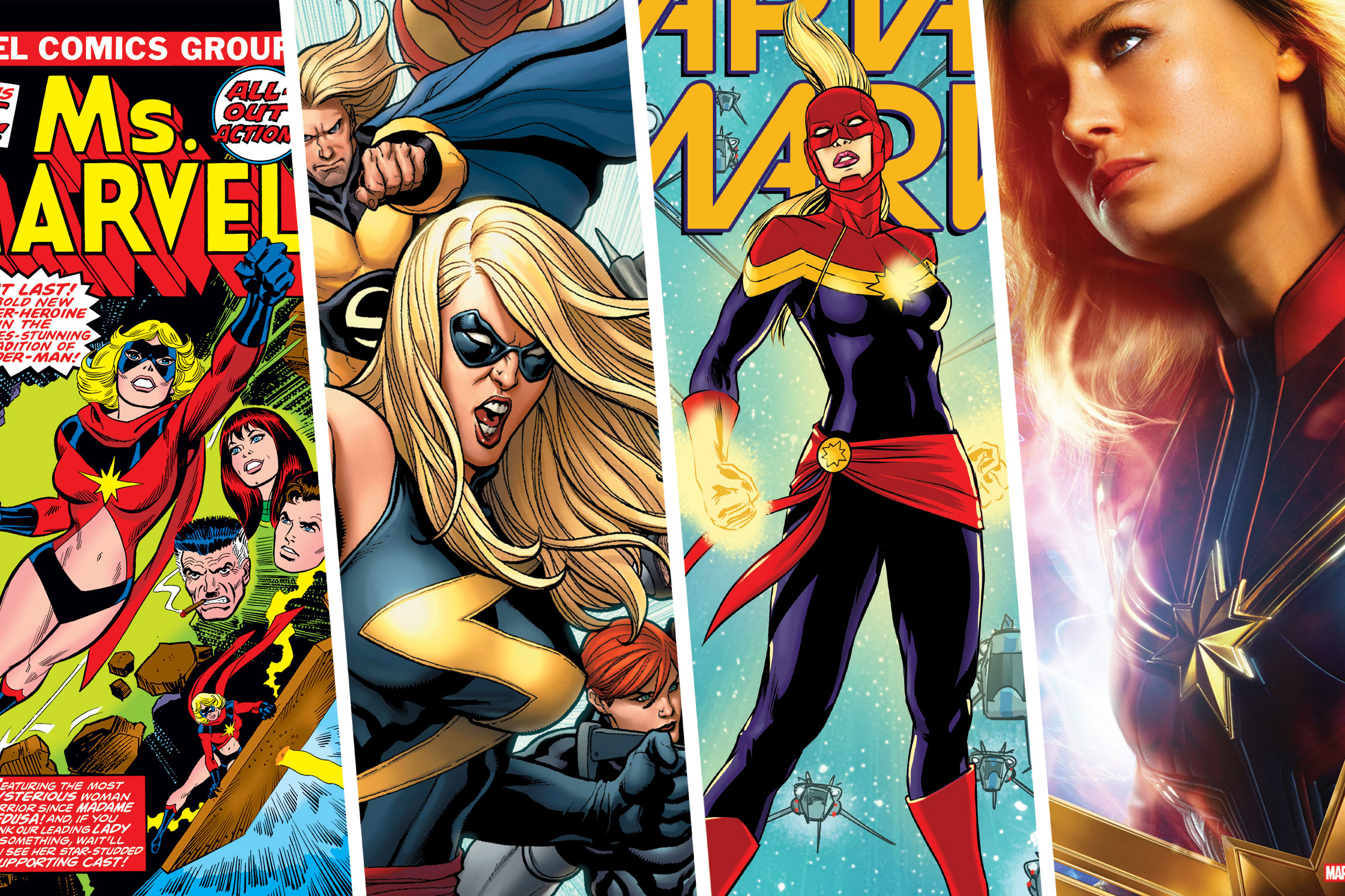 who is captain marvel? a look back at her feminist and not-so