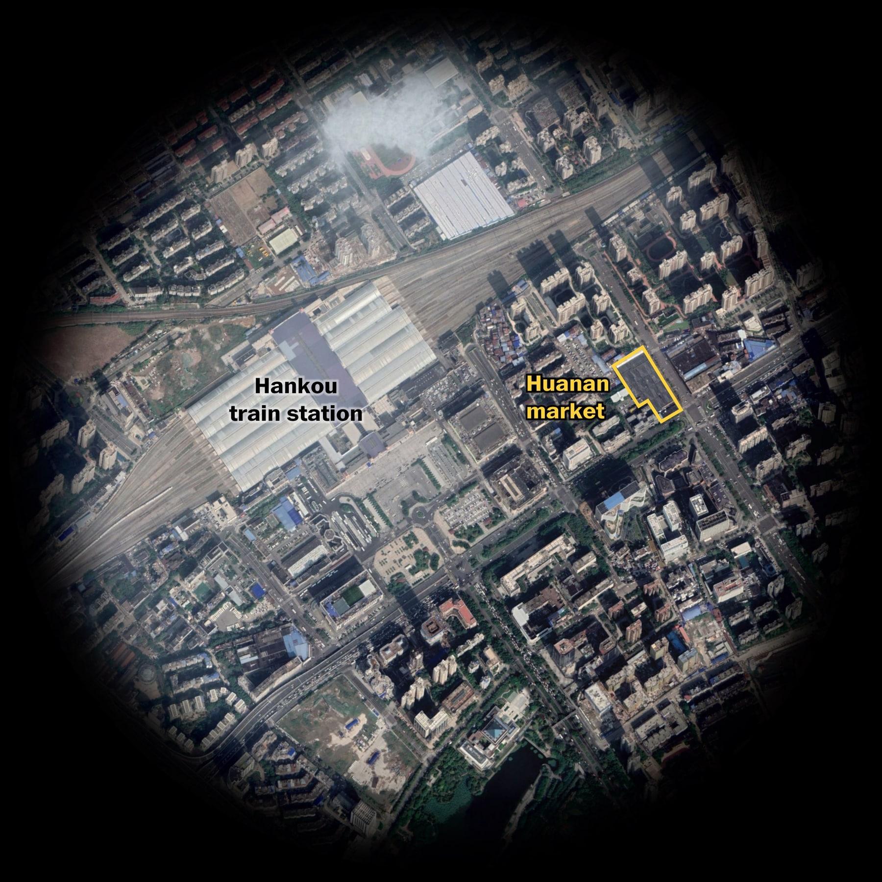 Coronavirus maps show how many people live near Wuhan, China - The ...