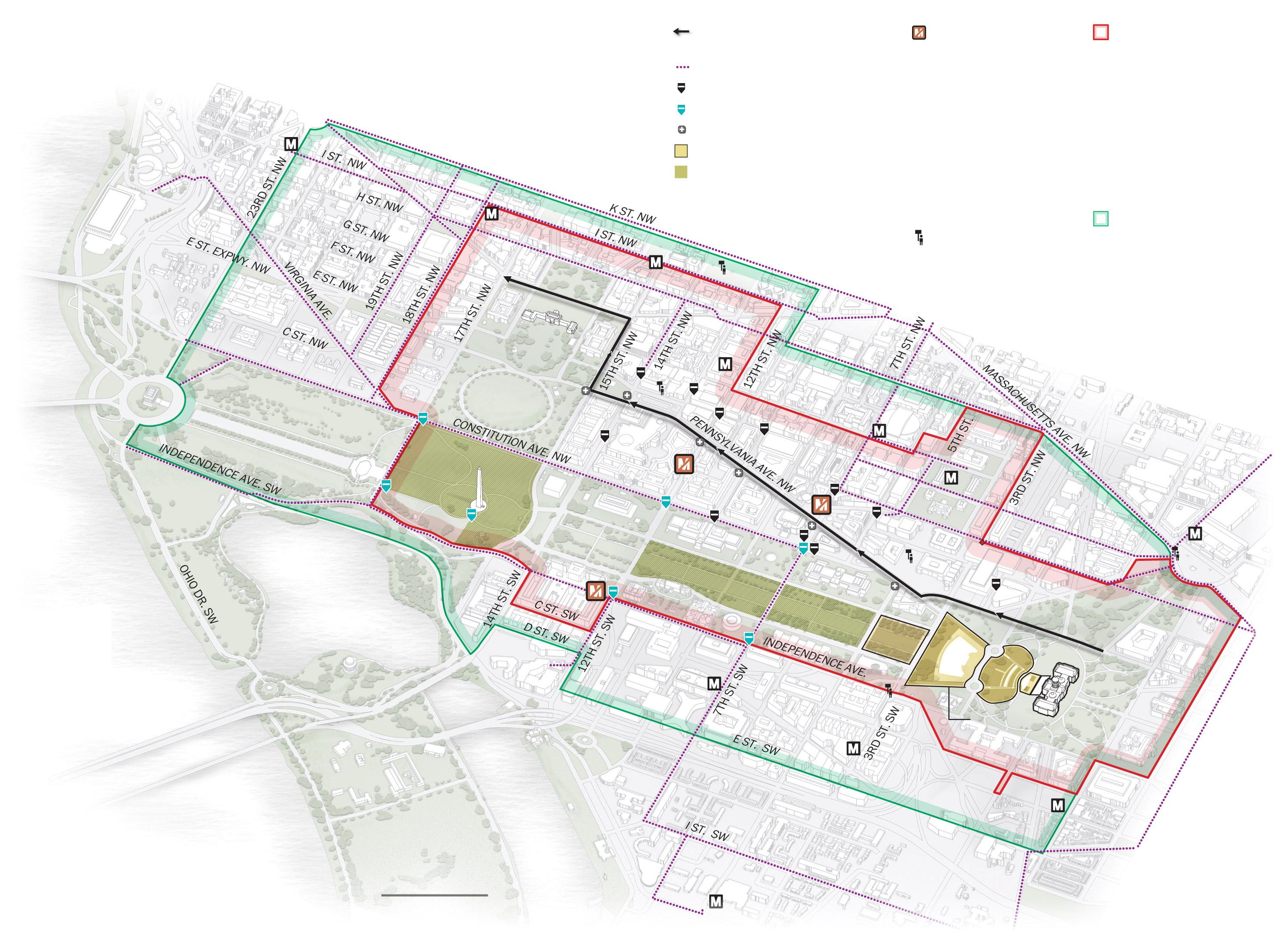 diagram of washington dc [ 2960 x 2156 Pixel ]