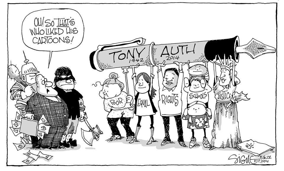 CARTOON OF THE DAY: Signe Wilkinson memorializes her