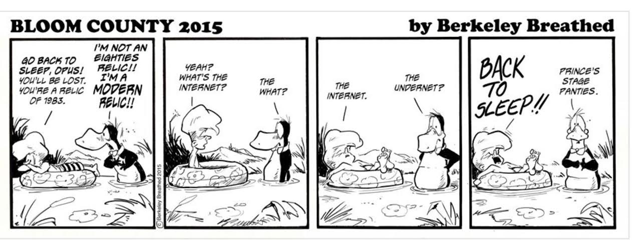 Be reassured: The second 'Bloom County 2.0′ strip has