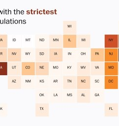 a guide to how strictly guns are regulated in every state washington post [ 2300 x 1533 Pixel ]