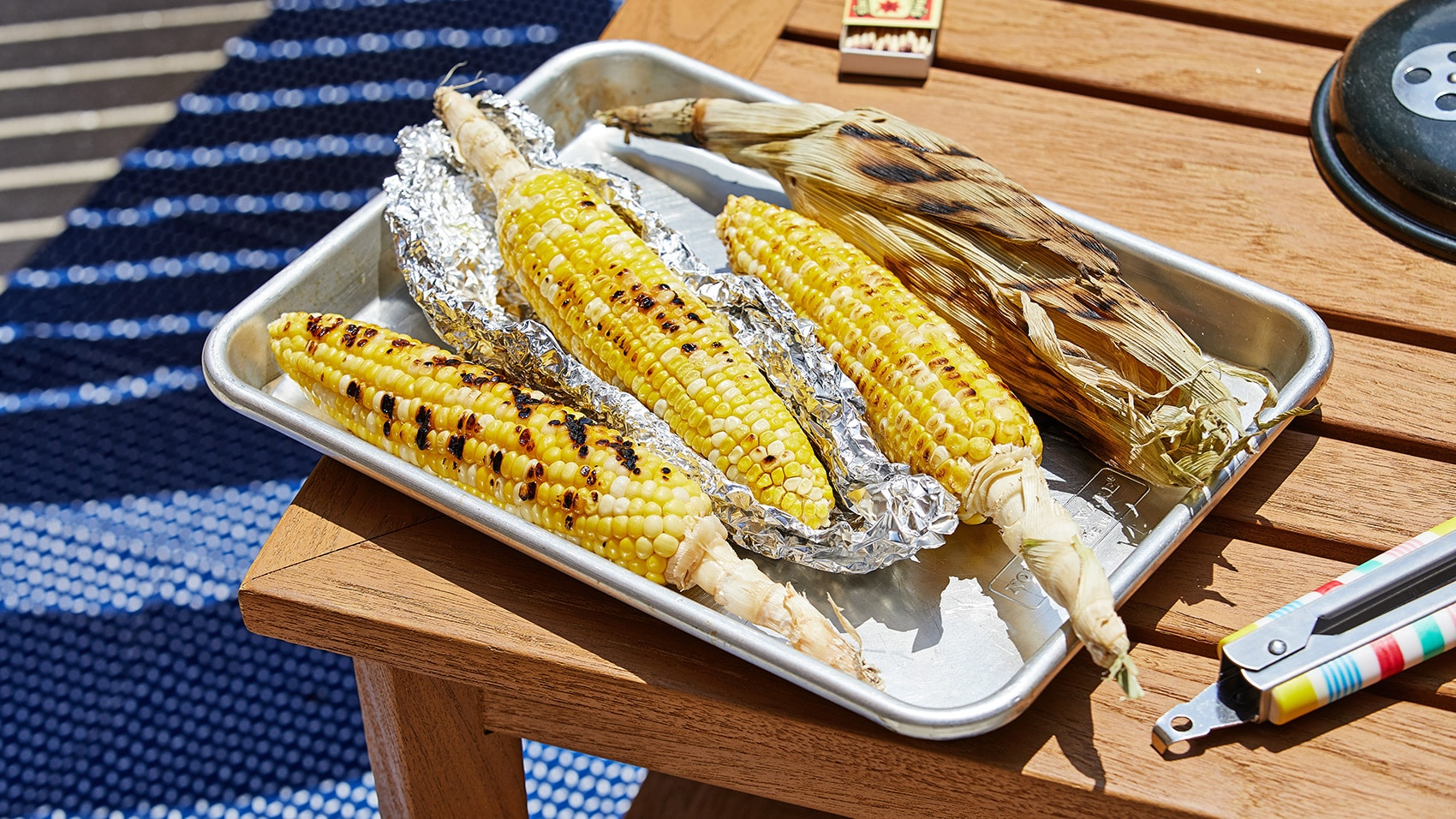 grilled corn four ways