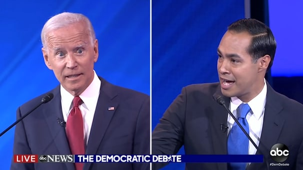 When are age and acuity fair game? Castro's Biden attack means Democrats are now going to have to decide.