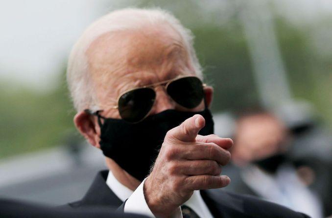 Trump calls mask wearing 'politically correct,' Biden calls him a ...