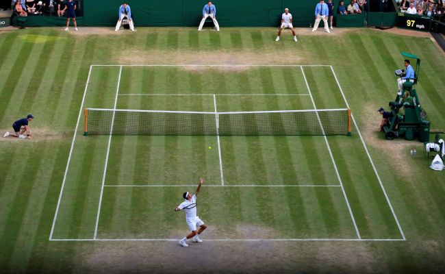 Roger Federer Downs Rafael Nadal Will Face Novak Djokovic