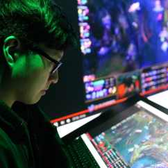 Lcs Gaming Chair Chaise Lounge Esports Training Facility Brings Another Step Closer To Team Liquid S League Of Legends Assistant Coach Jun Dodo Kang Reviews Game Film From The Previous Week Noah Smith For Washington Post