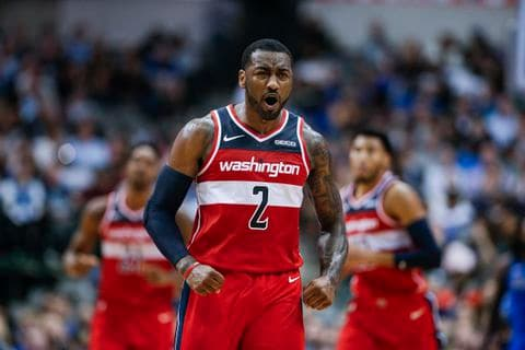 YQUYANHCVYI6RORQU7PNATMPVQ - John Wall's feud with Stephen A. Smith over Rosebar is the Wizards' version of the NBA Finals