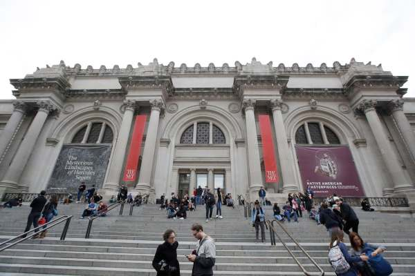 Metropolitan Museum Admission Policy Sticks