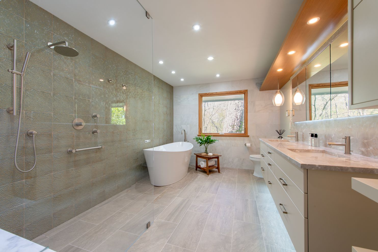 A Closer Look At Bathroom Design Trends For 2020 The Washington Post