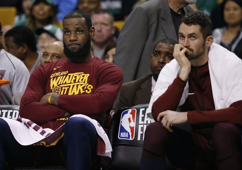 4OKGHFSXBMI6RGEJA66MCMT7JM - 'There were dark times': Kevin Love the latest to discuss challenge of playing with LeBron James