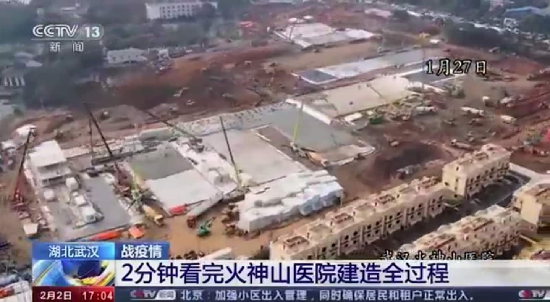 Hospital in Wuhan, China, built in days amid coronavirus outbreak ...