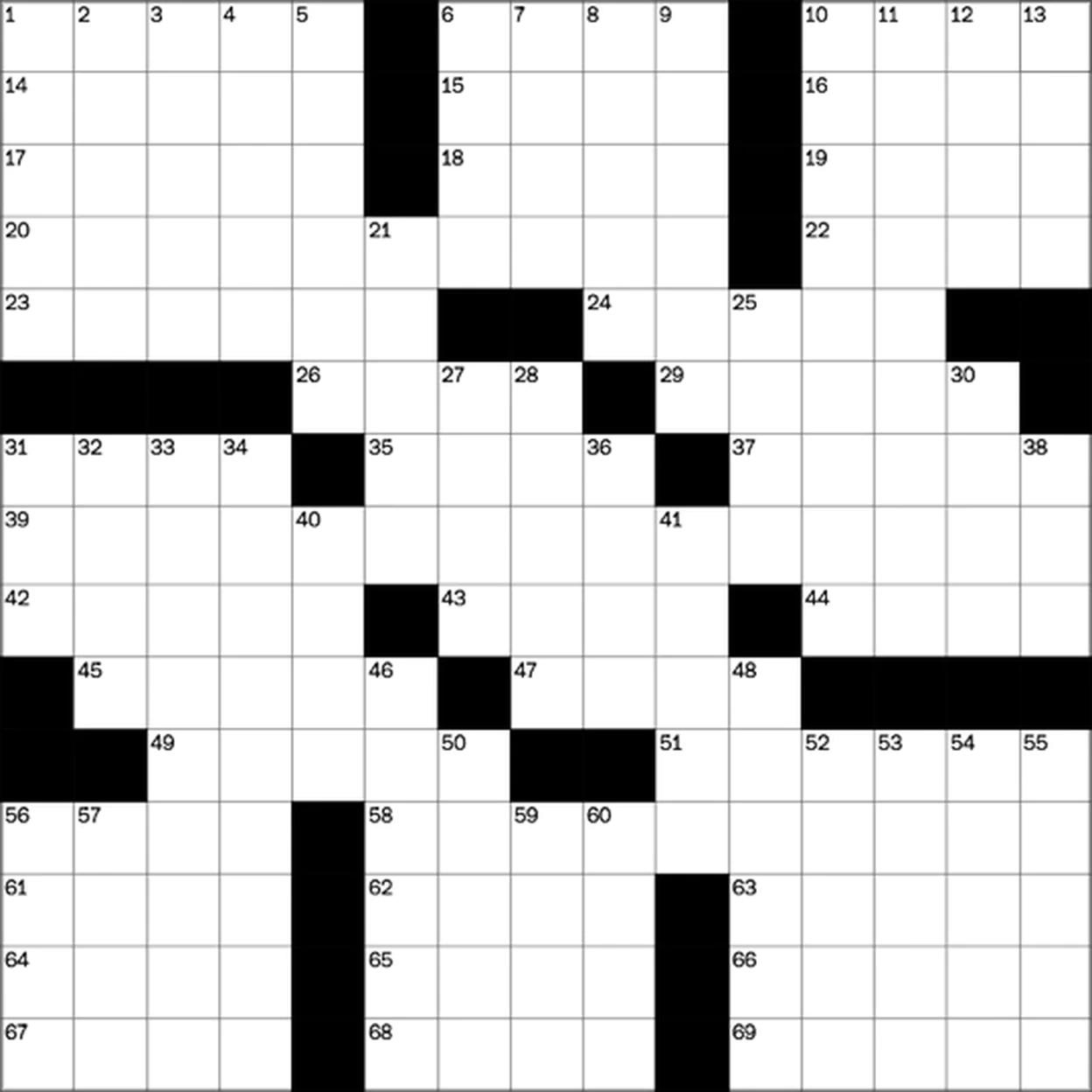 play free crossword puzzles