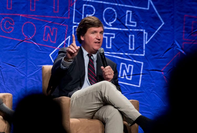 Tucker Carlson makes sexually explicit jokes about Miss ...