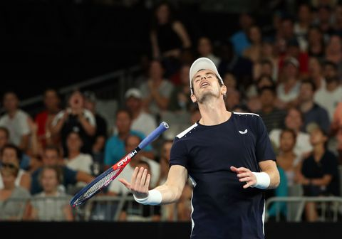 S4A5WHAX6QI6TOHGKZYZBQX5BA - Andy Murray bids an emotional farewell to Australian Open with first-round loss