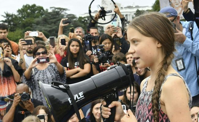 Teen Activist Greta Thunberg Takes Her Youth Climate