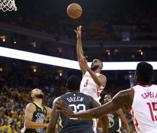 Rockets Draw Even With Warriors In Western Conference Finals